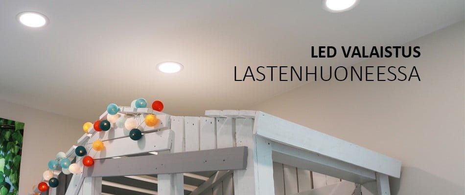 Led valaistus lastenhuoneessa – hyödynnä himmennystä ja langattoman valonsäätimen sijoittelua