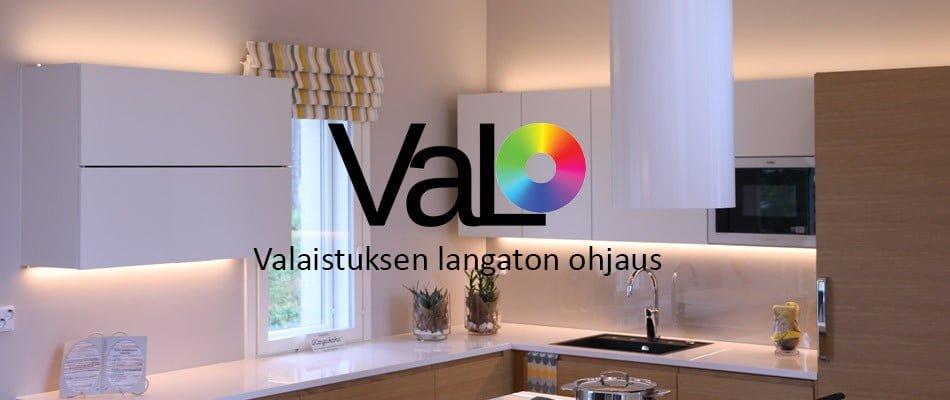 VaLO – valaistuksen langaton ohjaus