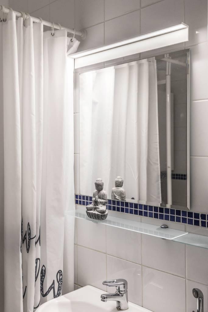 Kylpyhuoneen valaistusremontti