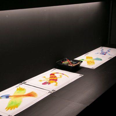 LedStoren led-nauha näyttelytilassa