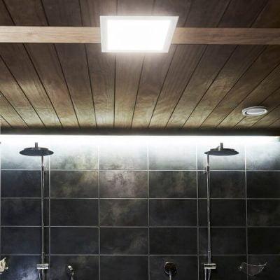 Kylpyhuoneen valaistus