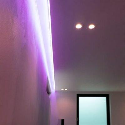 Oleskeluhuoneen valaistus